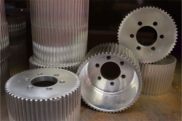 Custom Blower Pulley